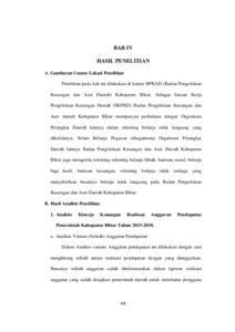 Analisis Kinerja Keuangan Pemerintah Daerah Kabupaten Blitar Ditinjau Dari Perspektif Islam Institutional Repository Of Iain Tulungagung