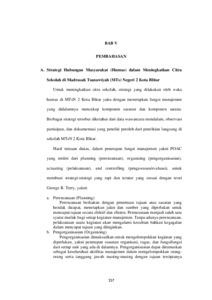 Strategi Hubungan Masyarakat Humas Dalam Meningkatkan Citra Sekolah Di Madrasah Tsanawiyah Mts Negeri 2 Kota Blitar Institutional Repository Of Iain Tulungagung
