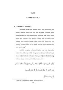 Tinjauan Hukum Islam Terhadap Jual Beli Online Yang Mencantumkan Gambar Palsu Studi Kasus Di Wilayah Blitar Institutional Repository Of Iain Tulungagung