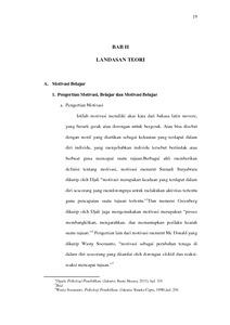 Hubungan Antara Motivasi Belajar Dengan Prestasi Belajar Siswa Kelas Xi Bidang Studi Sejarah Kebudayaan Islam Di Man Rejotangan Tahun 2013 2014 Institutional Repository Of Iain Tulungagung