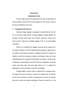 A Content Analysis Of An English Textbook For Tenth Graders Bahasa