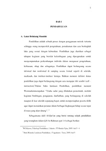 Penerapan Pendidikan Agama Islam Pada Anak Usia Dini Di Paud Az Zahra Desa Semarum Kecamatan Durenan Kabuaten Trenggalek Institutional Repository Of Iain Tulungagung